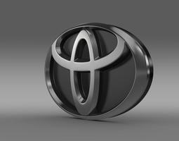 3D Toyota Motors Logo
