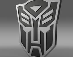 3d transformer logo
