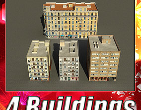 3D asset Building Collection 89-92