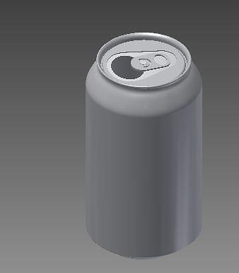 pop can 3d model stl 1