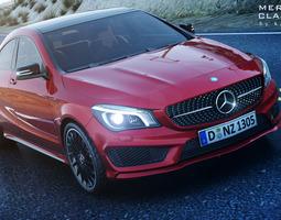 Mercedes CLA 45 AMG 3D