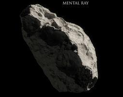 Asteroid 3D asset