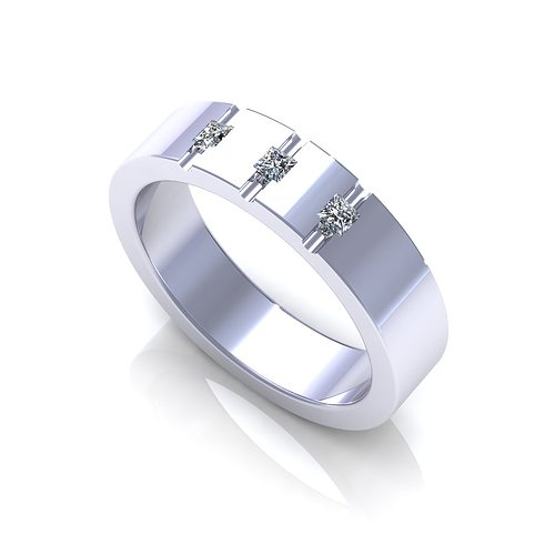 wedding band 3d model 3dm 1