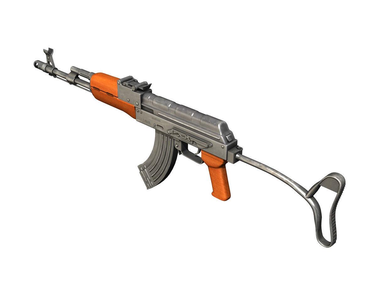 3d Kalashnikov Ak 74 Cgtrader