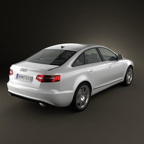 3D model Audi A6 C6 sedan 2011 | CGTrader on audi matte blue vinyl, audi s4, stanced audi s6 c6, audi a2, 2006 a6 c6, audi stretch and poke,