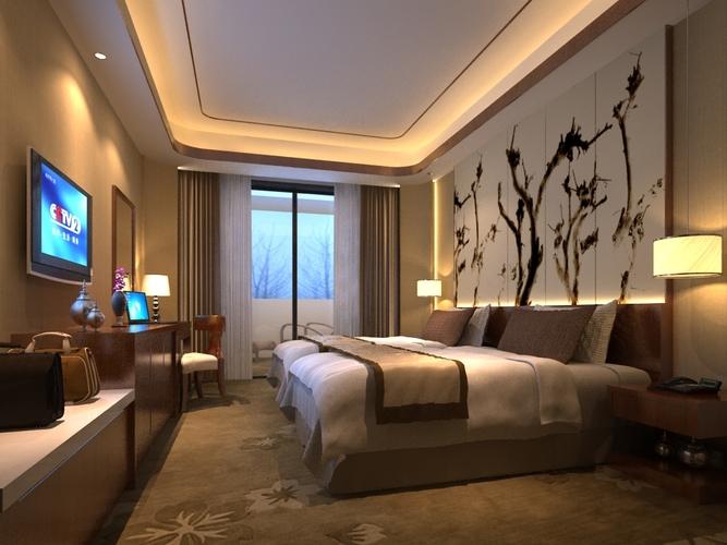 inside cozy bedroom