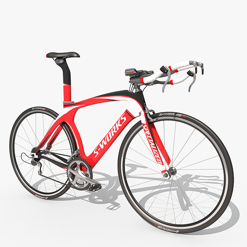 road bike 3d model max obj fbx 1