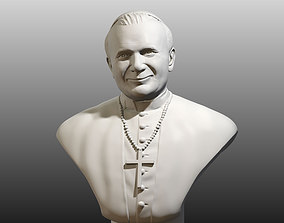 Pope St John Paul 2 the Great 3D printable model