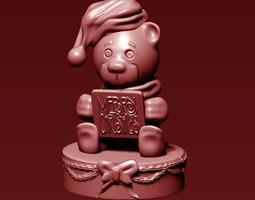 Christmas Bear 3D print model