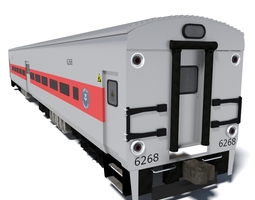 3D model Metro-North Wagon 3