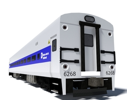 Metro-North Wagon 1 3D