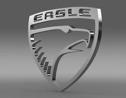 3D model Eagle Logo