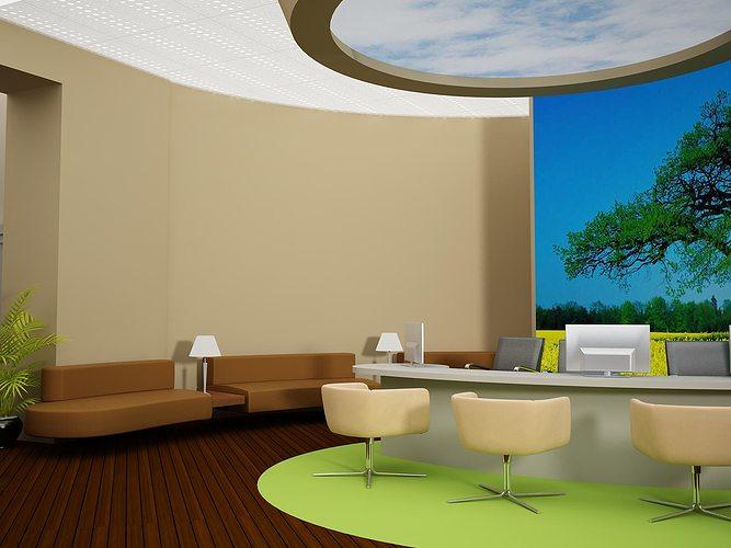 reception 3d model max 1