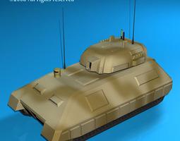 Electronic war Tank 3D Model