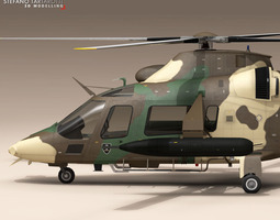 AW109LUH South Africa 3D