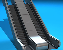escalators 3d