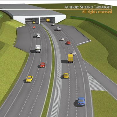 Highway scene
