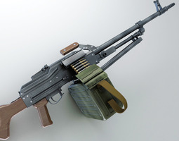 3D PK Machine gun Hi-Res