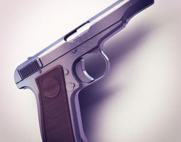 Remington Model 51 Hi-Res 3D Model