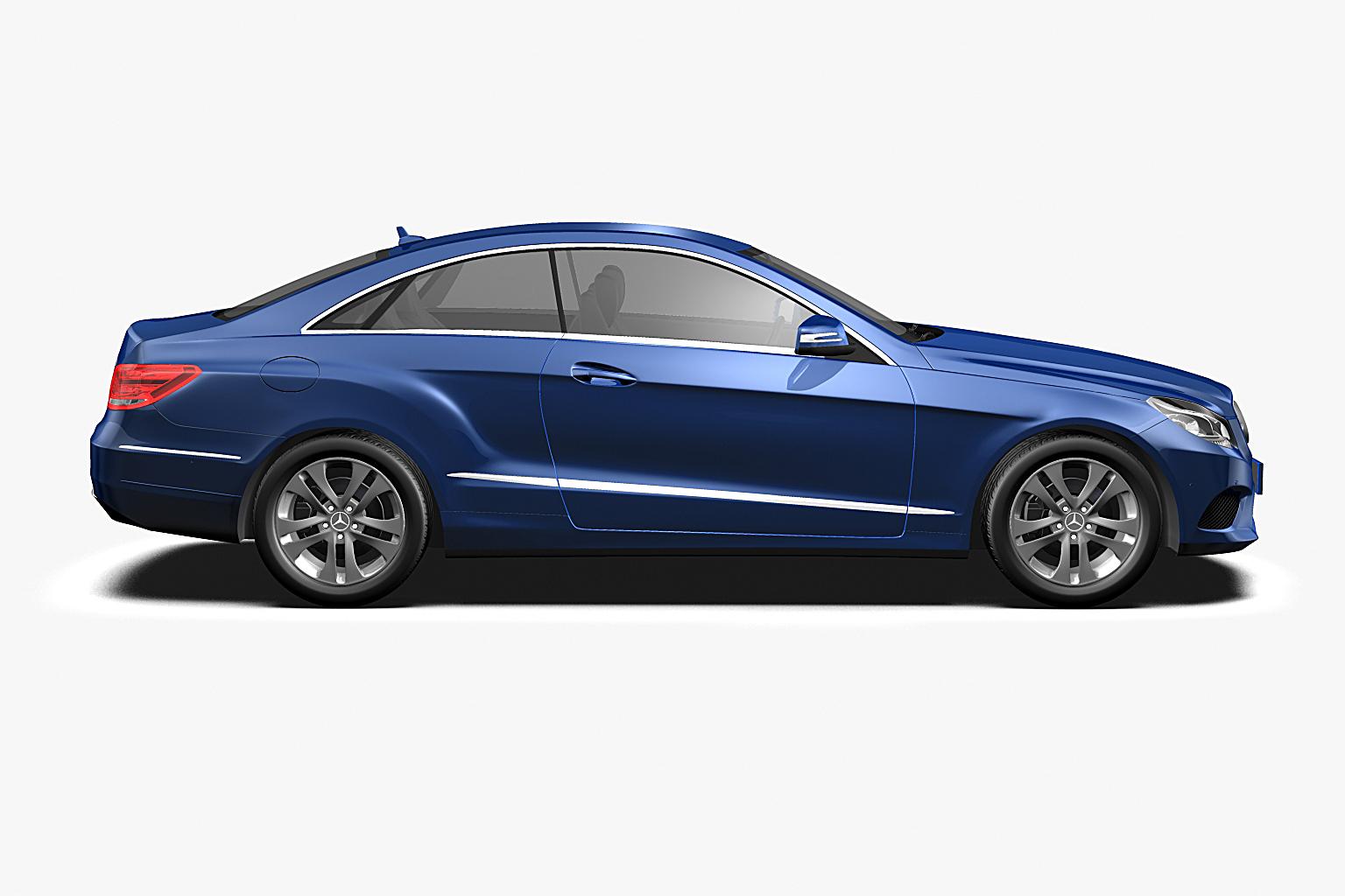 2014 mercedes benz e class coupe 3d model max obj 3ds fbx for 2014 mercedes benz models
