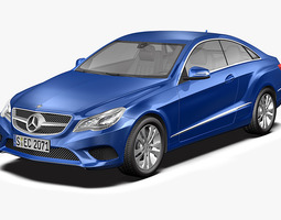 2014 Mercedes Benz E Class Coupe 3D model