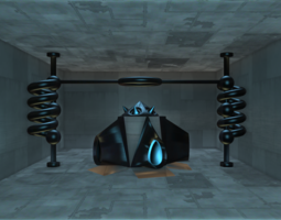 Sci-Fi Structure IV 3D Model