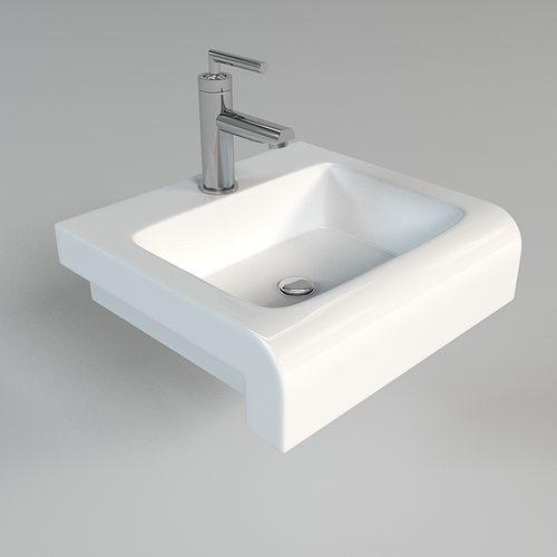 Sink 3d sink bathroom cgtrader for 3d bathroom models