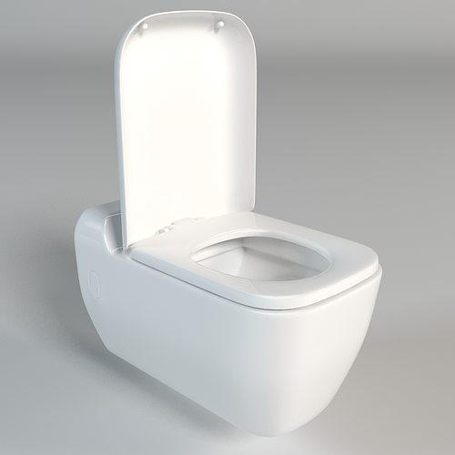 toilet 3d model max obj fbx mtl 1