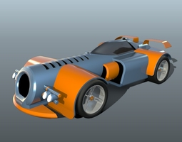 3D model Fiction toy car concept