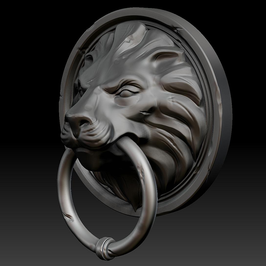 Lion Head Door Knocker Black Best Image Lion 2018