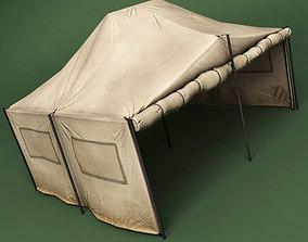 Tent model 3D asset