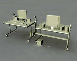 3D model Computer Set