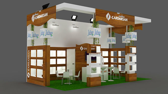 Exhibition Stand - ST0019