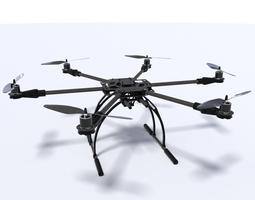 3d hexacopter