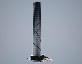 Infinity Tower - Low poly 3D model
