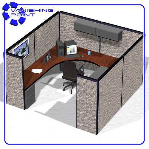 cubicle for office. Cubicle For Office. Office Poser 3d Model Obj Pz3 Pp2 6 N