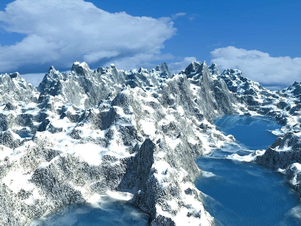 Ice Mountain Environment