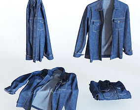 3D Jean jacket