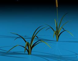 3D model Pond plant