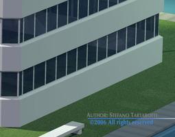 3D model Stilizedcity-building1