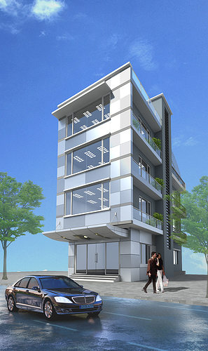 small office building design ideas. 3d Models Small Office Building Model Max Obj 3ds Mtl 1 Design Ideas