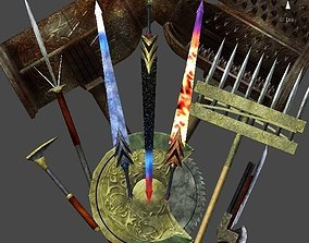 3D asset Gimmick weapons