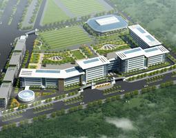 3dmodel university building