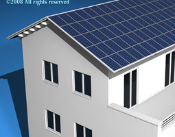 3d ecological house2