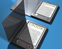 Ebook 3D model