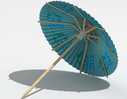 3d umbrella drinks