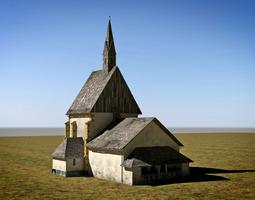 chapel Berg Drautal 3D Model