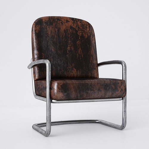 Old chair Miller 3D model & 3D Old chair Miller | CGTrader