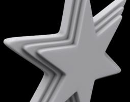 Star Ornament 3D print model