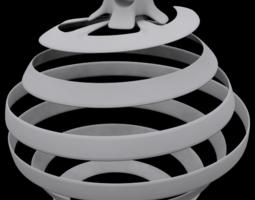 house 3D print model Christmas Tree Globe